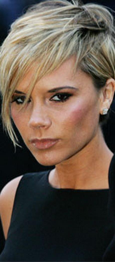 Fryzura Victoria Beckham