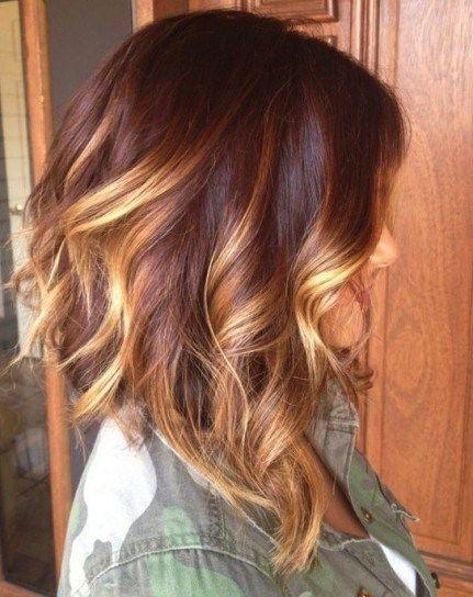 Fryzury Ombre Blond
