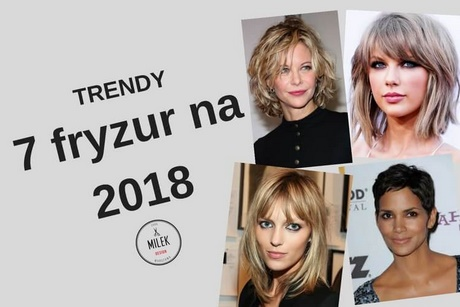Fryzura Damska 2018 Do Ramion