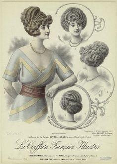 Fryzura Vintage