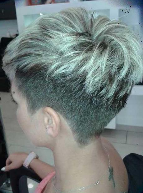 Fryzury Krótkie Włosy Wygolone Boki