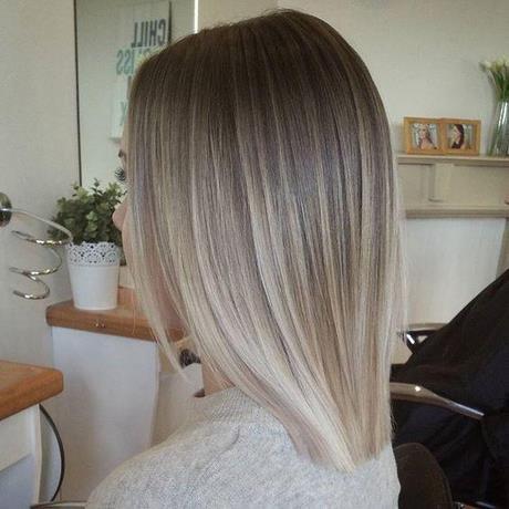 Fryzury Włosy Do Ramion Blond