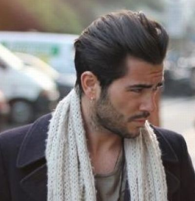 Włosy Zaczesane Do Tyłu Męskie