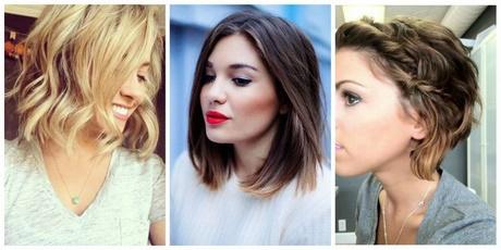 Fryzury 2018 średnie Włosy
